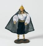 Krippenfigur Lakai kniend Heimat-Krippe 20 cm Krippen Figur Weihnachten