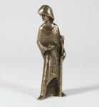 Hirte mit Schaufel 20 cm Bronze, Krippenfigur