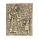 Namenstag Dorothea Bronzeplakette 13 x 10 cm Namenspatron