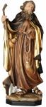 Heiliger Johannes Gualbertus mit Axt Holzfigur geschnitzt Südtirol Schutzpatron