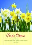 Osterkarte Frohe Ostern (10 Stck) Grußkarte Glückwunschkarte