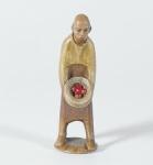 Gelenberg Krippe Hirte mit Früchten 14 cm Krippen Figur Weihnachten