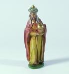 Tiroler Krippe König stehend bunt bemalt 12 cm Krippen Figur Weihnachten