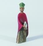 Gelenberg Krippe König stehend bunt bemalt 18 cm Krippen Figur Weihnachten