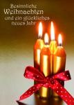 Weihnachtskarte Besinnliche Weihnachten (10 Stck) Postakrten Text Gisela Baltes