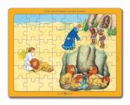 Puzzle Gott rettet Daniel vor den Löwen