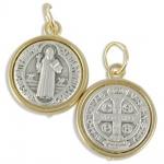 Anhänger Benediktus Medaille 1, 6 cm