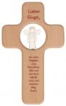 Kreuz für Kinder Lieber Engel 18 cm Kruzifix Holz-Kreuz Geschenkbox