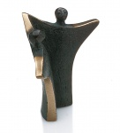 Bronzefigur Harmonie 13 cm Skulptur Kött-Gärtner Bronze Figur Liebespaar
