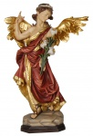Heiliger Erzengel Gabriel Holzfigur geschnitzt Südtirol Schutzpatron