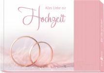 Geschenkbuch Alles Liebe zur Hochzeit mit Gutschein-Tasche