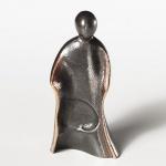 Josef Krippenfigur aus Bronze, 8 cm