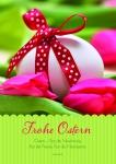 Osterkarte Frohe Ostern Fest der Versöhnung (10 Stck)