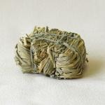 Heuballen klein handgefertigt Naturmaterial Zubehör für Weihnachtskrippe