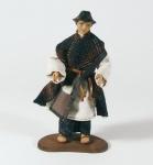 Krippenfigur Hirte mit Hut Heimat-Krippe 20 cm Krippen Figur Weihnachten