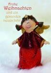 Weihnachtskarte Frohe Weihnachten Neues Jahr (10 Stck) Postkarten Adressfeld