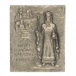 Namenstag Irmgard Bronzeplakette 13 x 10 cm