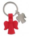 Schlüsselanhänger 2 Schutzengel rot Engel Anhänger