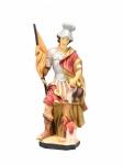 Heiliger Florian mit Haus handbemalt 18 cm Schutzpatron