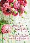 Postkarte Segen zum Geburtstag (10 St) Blumen Psalm Lutherbibel Grußkarte