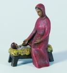 Gelenberg Krippe Maria mit Barren handbemalt 18 cm Krippen Figur Weihnachten