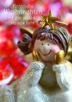 Weihnachtskarte Fröhliche Weihnachten Neues Jahr (10 St) Postkarten Adressfeld