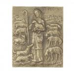 Namenstag Regina Bronzeplakette 13 x 10 cm Namenspatron