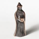 König, stehend, mit spitzem Hut 20 cm Bronze