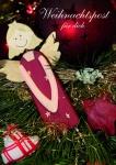 Weihnachtskarte Weihnachtspost für dich (10 Stck) Postkarten Adressfeld