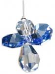 Schutzengel Swarovski-Elements Saphire 3 cm Stahldraht Schutzengel Geschenke