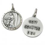 Anhänger Schutzengel Gott schütze Dich 1, 5 cm Engel Schmuck