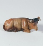 Krippenfigur Ochse liegend Heimat-Krippe 16 cm Krippen Figur Weihnachten