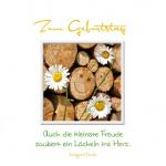 Geburtstagskarte Freude (3 Stck) Glückwunschkarte Kuvert