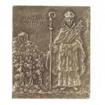 Namenstag Walter Bronzeplakette 13 x 10 cm Namenspatron Geschenk
