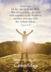 Postkarte Glück und Segen zum Geburtstag (10 St) Person Johannes Lutherbibel