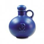 Weihwasserkrug PX Christusmonogramm Keramik blau 0, 5 l Weihwassergefäß Zuhause
