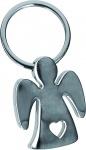 Schlüsselanhänger Engel mit Herz Geschenkverpackung 7 x 3, 5 cm