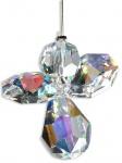 Schutzengel Swarovski-Elements Crystall 3 cm, am Stahldraht Schutzengel Geschenke