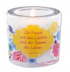 Glaswindlicht Sommer des Lebens, Jean Paul Teelicht Kerzenhalter