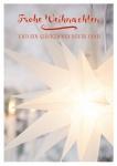 Postkarte Frohe Weihnacht Neues Jahr (10 Stck) Herrnhuter Stern Weihnachtskarte