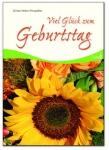 Geschenkbuch Viel Glück zum Geburtstag Sonnenblume
