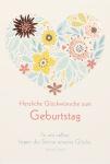 Geburtstagskarte Heine Herzliche Glückwünsche (6 Stck) Glückwunschkarte Kuvert