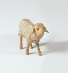 Tiroler Krippe Schaf blökend bunt bemalt 12 cm Krippen Figur Weihnachten