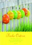 Osterkarte Frohe Ostern Reinhard Abeln (10 St) Grußkarte Glückwunschkarte