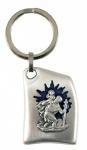 Schlüsselanhänger Christopherus elegant 8 cm Christophorus Schlüsselkette