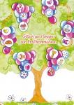 Glückwunschkarte Glück und Segen zur Erstkommunion (6 St) Baum Matthäus