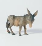 Krippenfigur Esel stehend Oberammergauer Krippe Krippen Figur Weihnachten