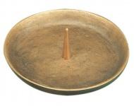 Kerzenleuchter Ø 10 cm Bronze, handgegossen Kerzenhalter
