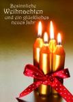 Weihnachtskarte Besinnliche Weihnachten (10 Stck) Postkarten Gisela Baltes