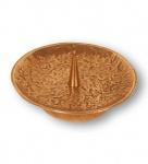 Kerzenhalter Ø 12 cm Bronze, Schmuckleuchter Kerzenständer
